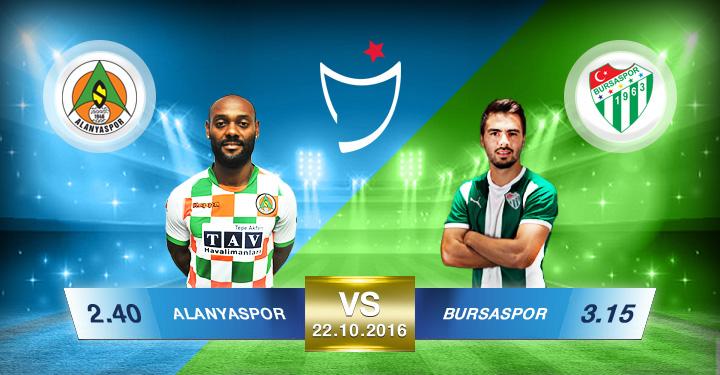 Süperbetin Alanyaspor - Bursaspor Oran