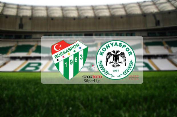 Superbetin Bursaspor - Konyaspor Canlı