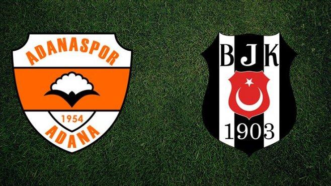 Süperbetin Adanaspor - Besiktas canlı