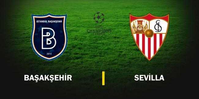 Başakşehir Sevilla Canlı İzle