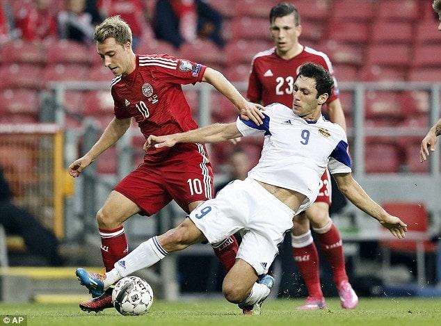 Ermenistan Danimarka Maçı Canlı İzle