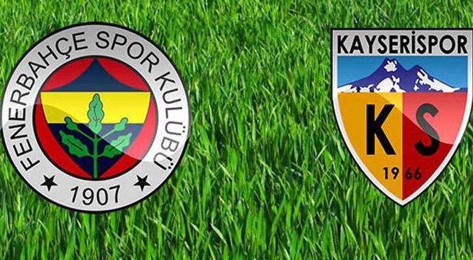 Fenerbahçe Kayserispor Maçı Ne Zaman