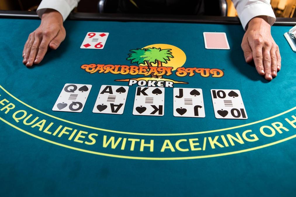 Caribbean Stud Poker Oyunu
