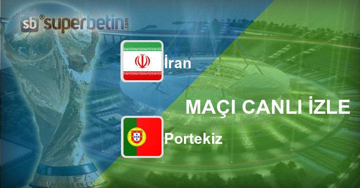 İran Portekiz Maçı Canlı İzle