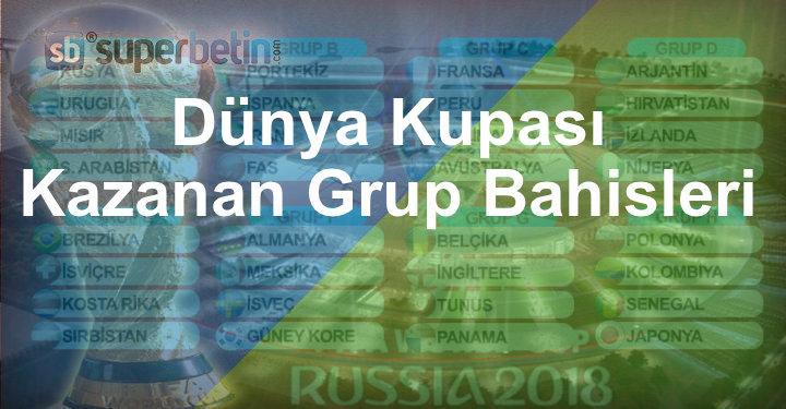 Kazanan Grup Bahisleri