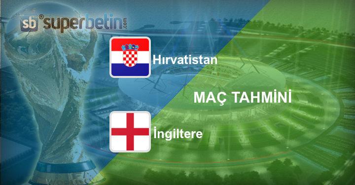 Hırvatistan İngiltere Maç Tahmini