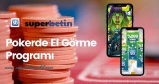 Pokerde El Görme Programı